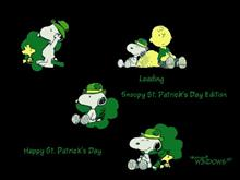 Snoopy St. Patrick's Day Edition