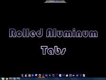 Rolled Aluminum Tabs
