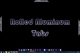 Rolled Aluminum Tabs