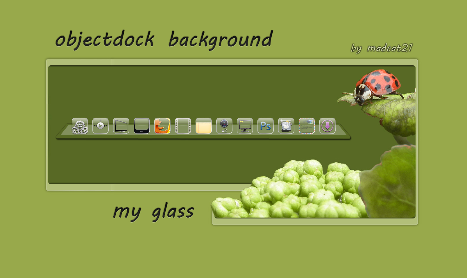 my glass back
