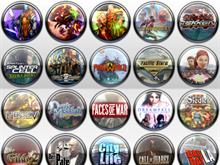 Game Icons Vista Style Vol. 1