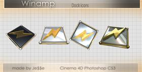 Winamp dock icons
