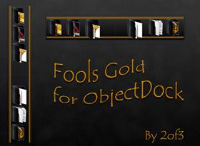 Fools Gold for ObjectDock