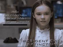 Resident Evil: Extinction - White Queen