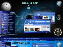 AZUL Hi-Def in 3D