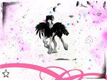 Horse Angel Splatter