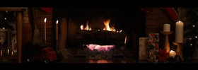 Christmas Fire (Dual Monitor)