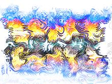 psychedelic ripples