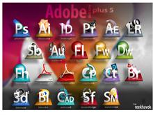 Adobe Dock Icons package plus5