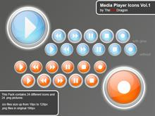 Media Player Icons Vol.1