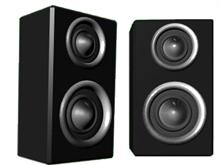 twin Speakers