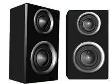 twin Speakers
