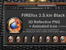FIREfox 3.S.. kin Black