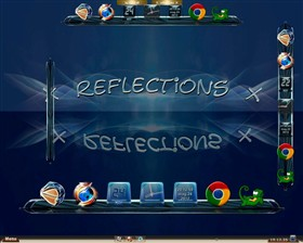 Reflections for ObjectDock 2.0