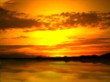 The Sunset Glory