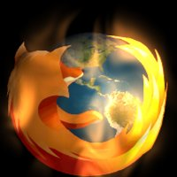 Animated 3D Firefox Icon part 2