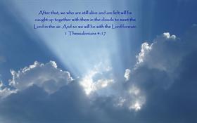 I Thess 4:17