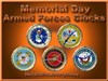 Armed Forces Clocks by: NetaholicsAnonymous