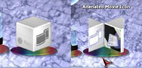 Animated Movie Dock Icon