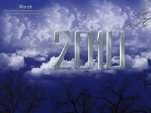 March 2010 Wallpaper