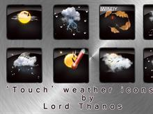 'Touch' Weather Icons