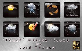 &#39;Touch&#39; Weather Icons