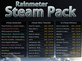 Rainmeter Steam Pack v1.5
