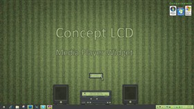Concept LCD Media Widget