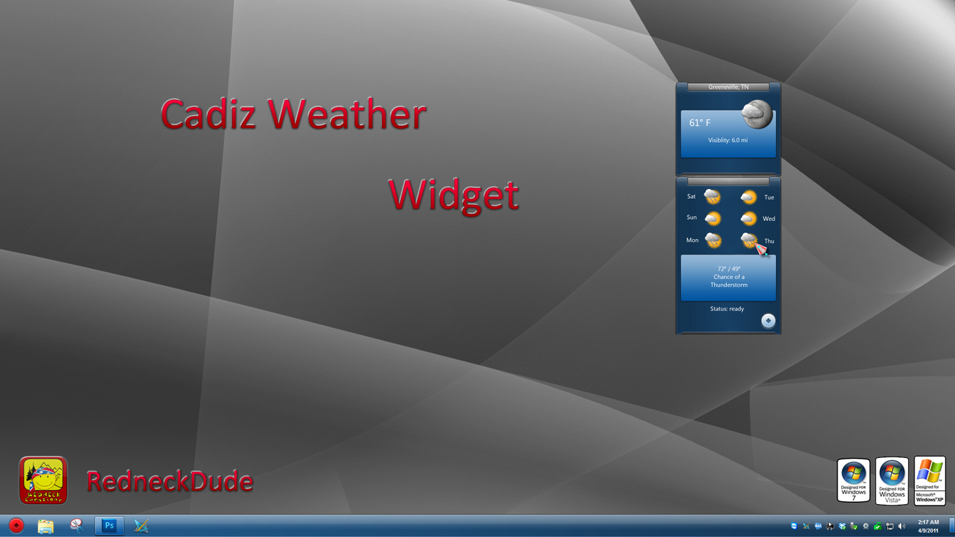 Cadiz Weather Widget