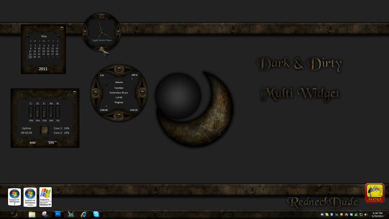 Dark and Dirty Multi Widget