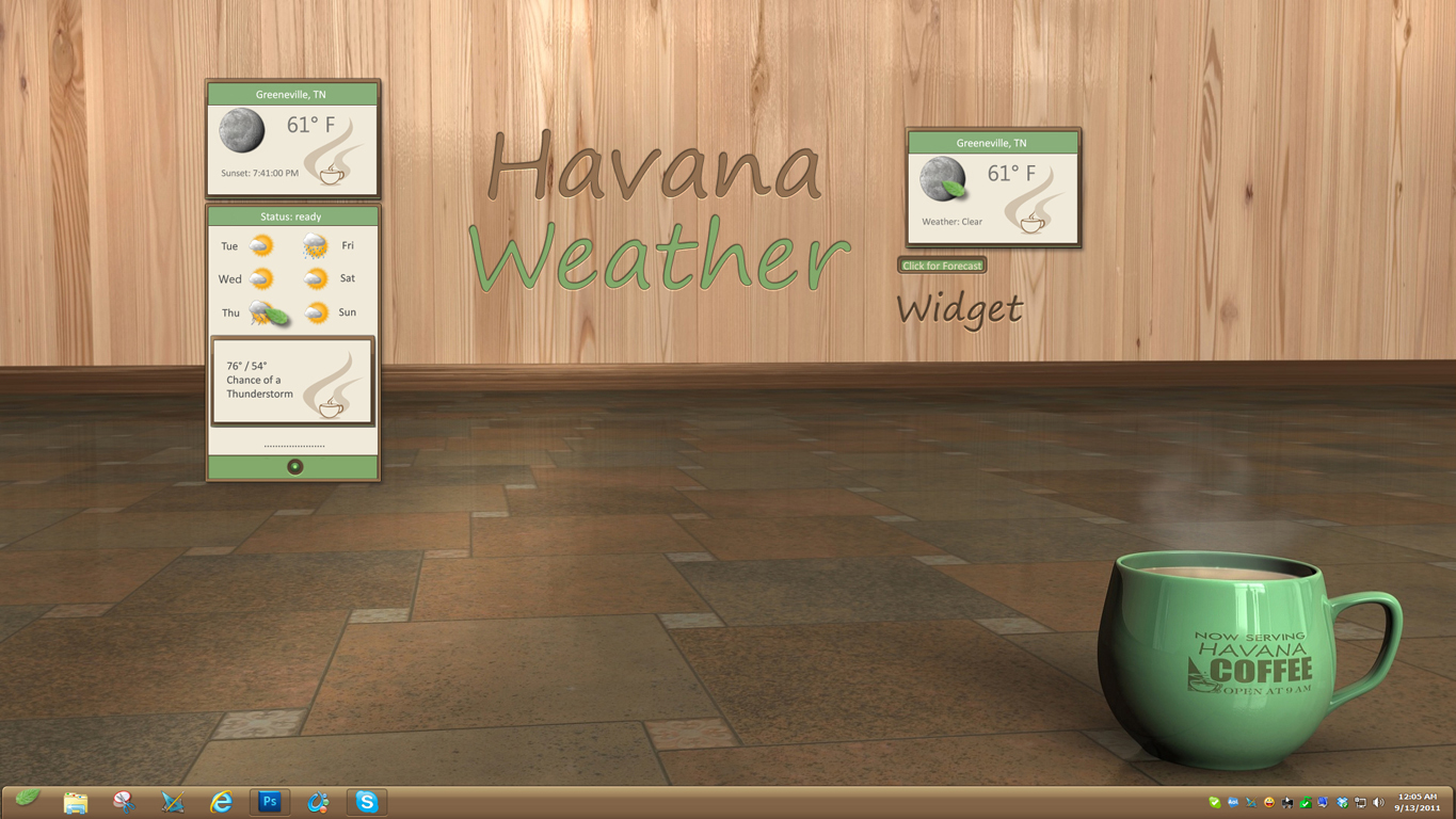 Havana Weather Widget