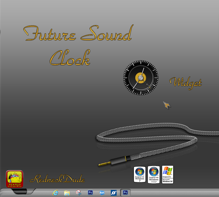 Future Sound Clock Widget