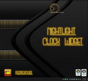 Nightlight Clock Widget