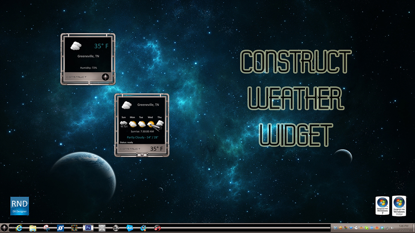 Construct Weather Widget
