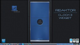 Reaktor Clock 3 Widget