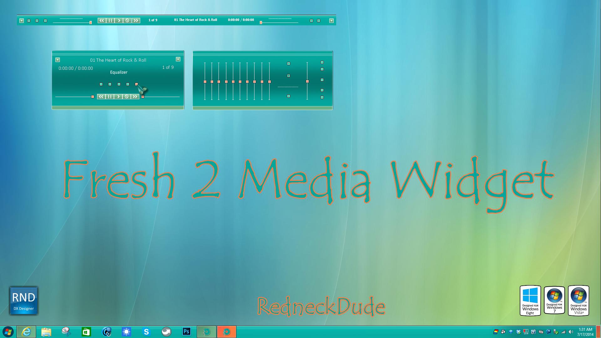 Fresh Media Widget