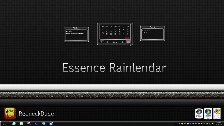 Essence Rainlendar