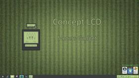 Concept LCD Meters Gadget