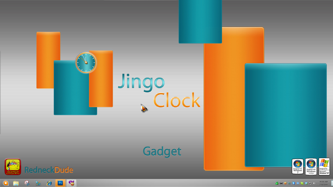 Jingo Clock Gadget