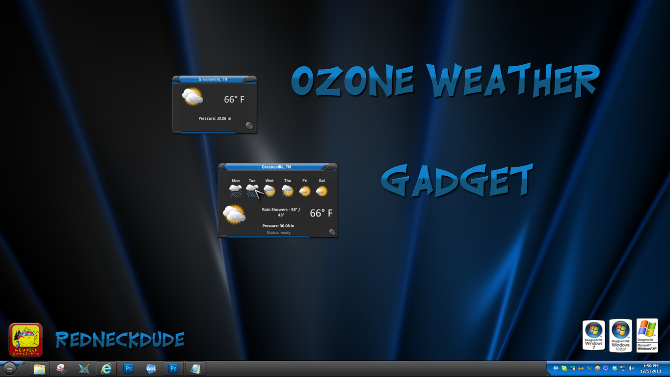 Ozone Weather Gadget