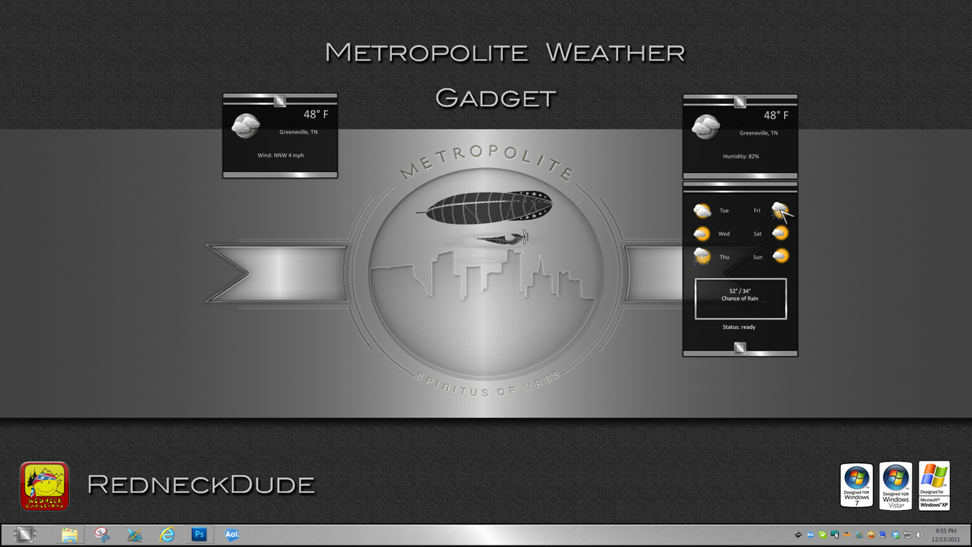 Metropolite Weather Gadget