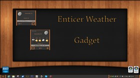 Enticer Weather Gadget