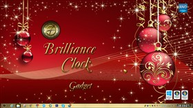 Brilliance Clock Gadget