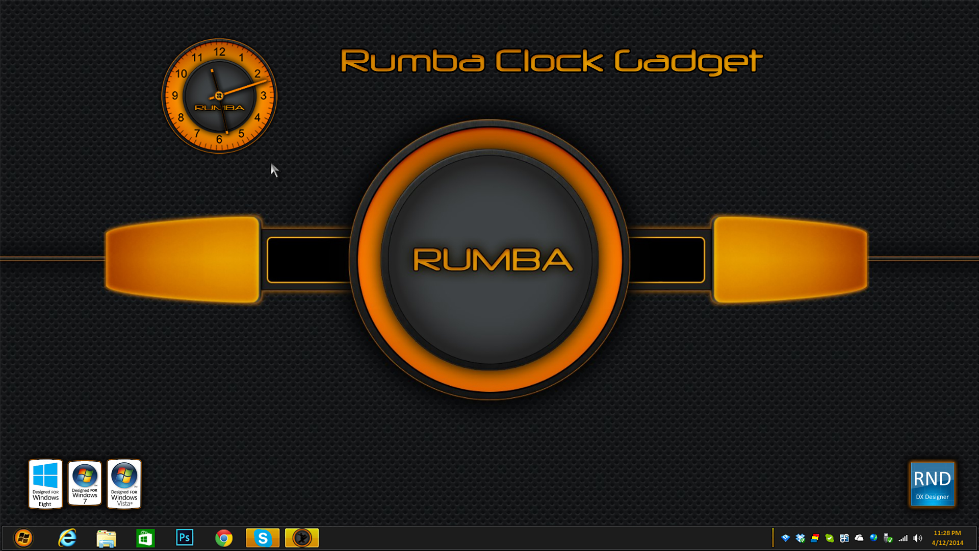 Rumba Clock Gadget