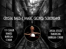 Crystal Balls and Magic Globes Screensaver
