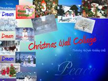 Christmas Wall Collage