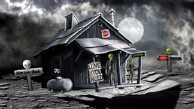 "Alien "" Love Shack """