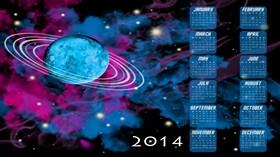2014 Space Calendar