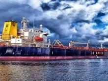 Cargo Ship Amsterdam