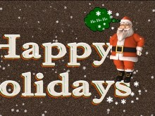 Happy Holiday Santa